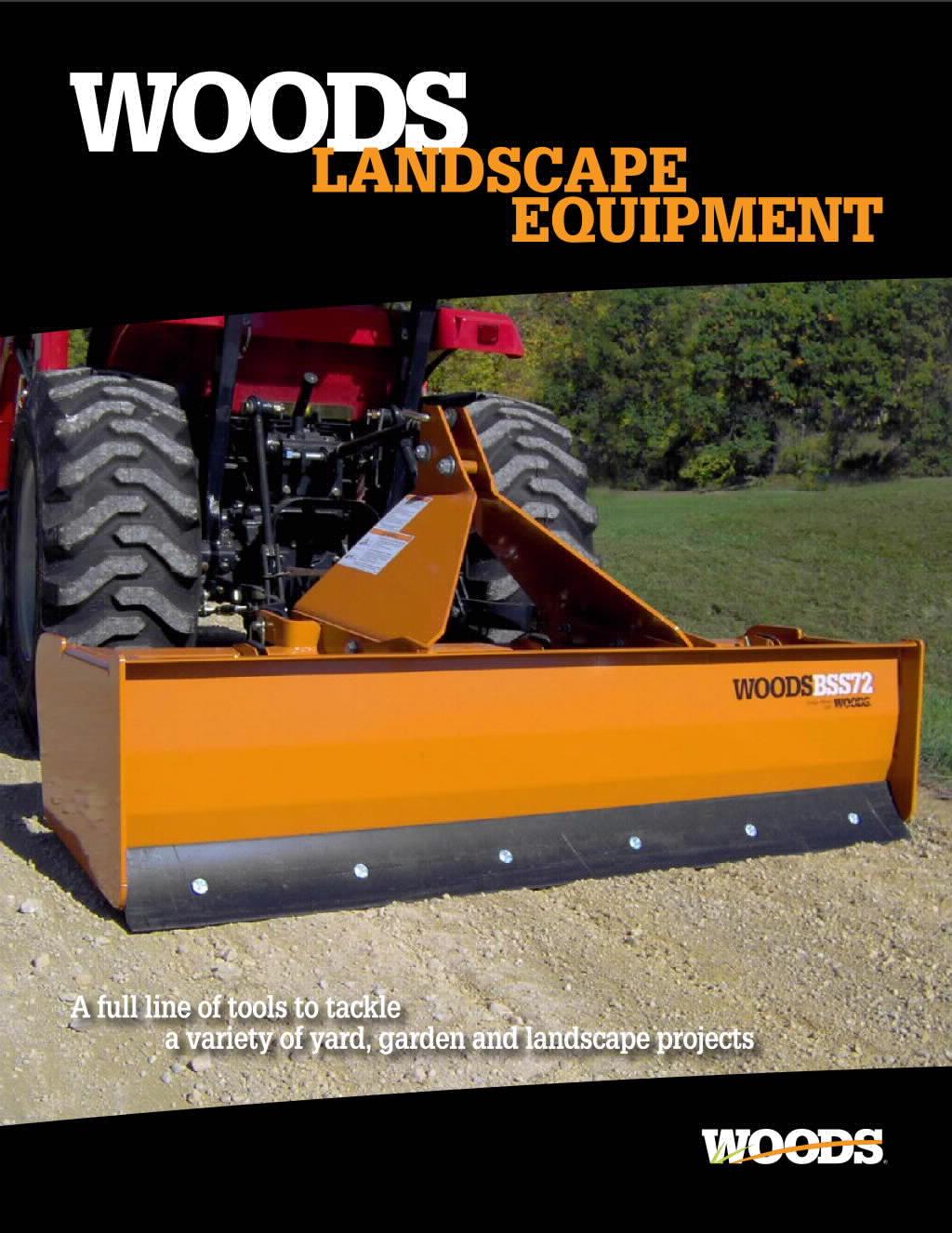 Landscape Equipment Brochure