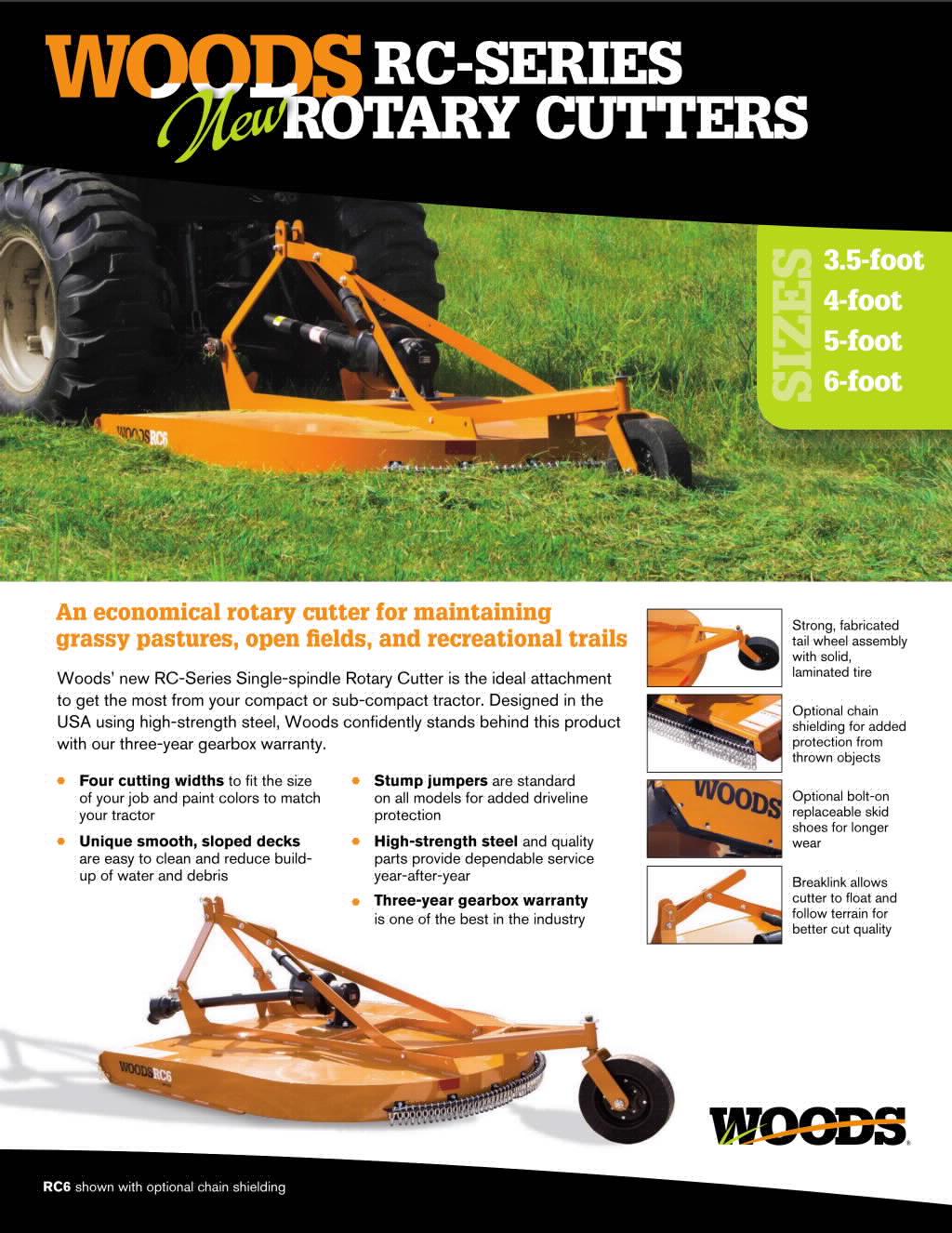 RC Series Cutters Brochure