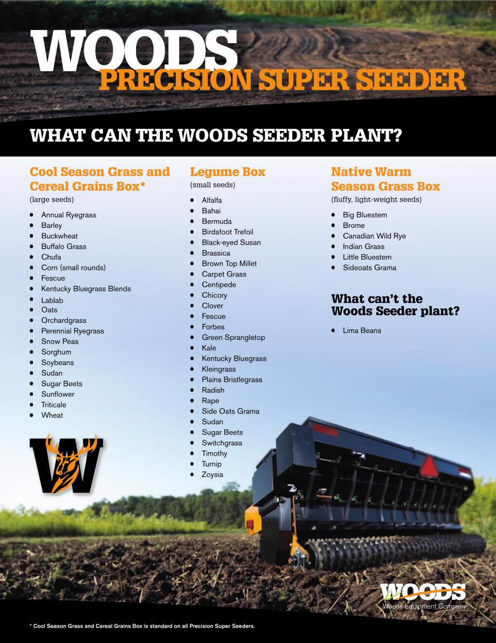 Precision Super Seeders Brochure