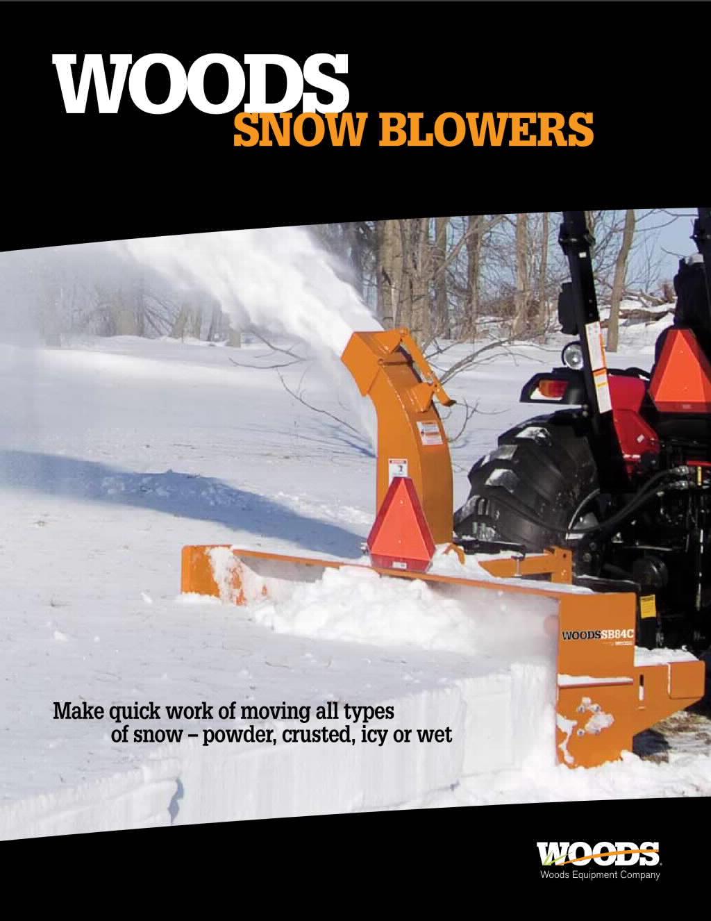 Snow Blowers Brochure