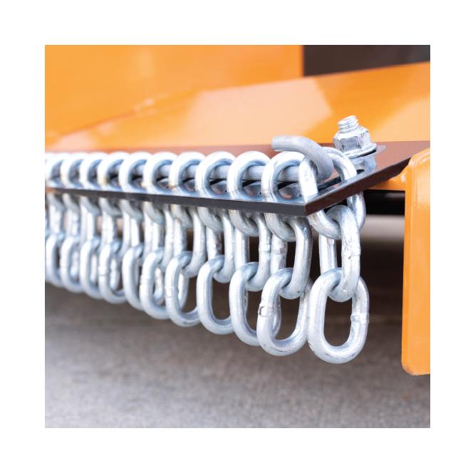 Turfkeeper Pro™ Optional Chain Shielding